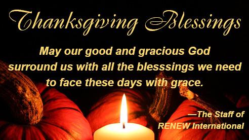 Thanksgiving Prayer 2020